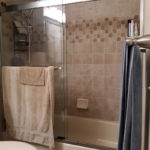 Eagle River Bathroom Upgraded and Remodeled with new Shower Tile