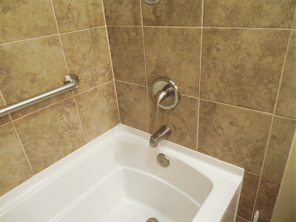Home Repair-Bathroom Remodel/Upgrade-Porcelain Tile #1 by Acorn Maintenance Reapir