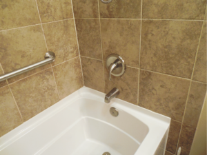 Home Repair-Bathroom Upgrade-Porcelain Tile #1 by Acorn Maintenance Reapir
