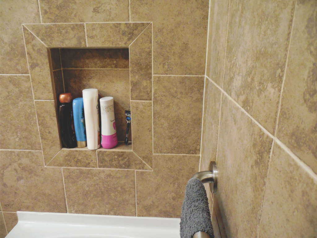 Home Repair-Bathroom Upgrade-Porcelain Tile #3 by Acorn Maintenance Reapir