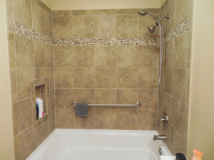 Home Repair-Bathroom Upgrade-Porcelain Tile #3 by Acorn Maintenance Reapir