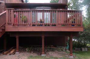 Home Repair-Deck Restoration-Cedar My Deck #1 by Acorn Maintenance Repair