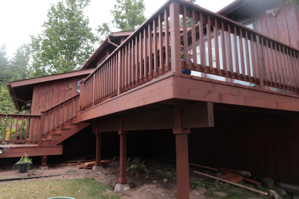 Deck Repair -Cedar My Deck #2 by Acorn Maintenance Repair