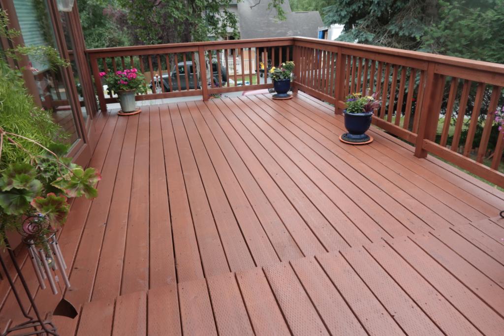Deck Repair -Cedar My Deck #6 by Acorn Maintenance Repair