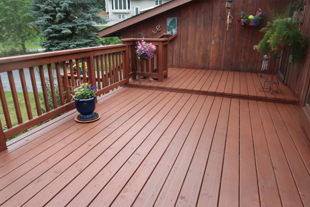 Deck Repair -Cedar My Deck #8 by Acorn Maintenance Repair