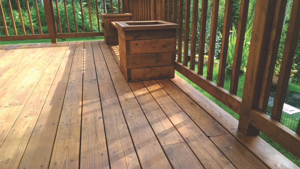 Home Repair-Deck Restoration-Deck Stain After #1 by Acorn Maintenance Repair