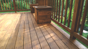 Deck Repair -Deck Stain After #1 by Acorn Maintenance Repair