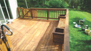 Deck Repair -Deck Stain After #2 by Acorn Maintenance Repair