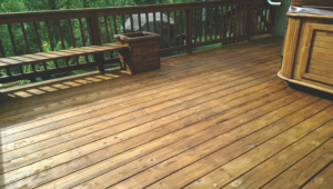Home Repair -Deck Restoration-Deck Stain After #3 by Acorn Maintenance Repair