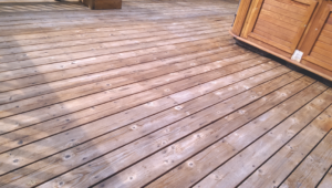 Deck Repair -Deck Stain Before #3 by Acorn Maintenance Repair