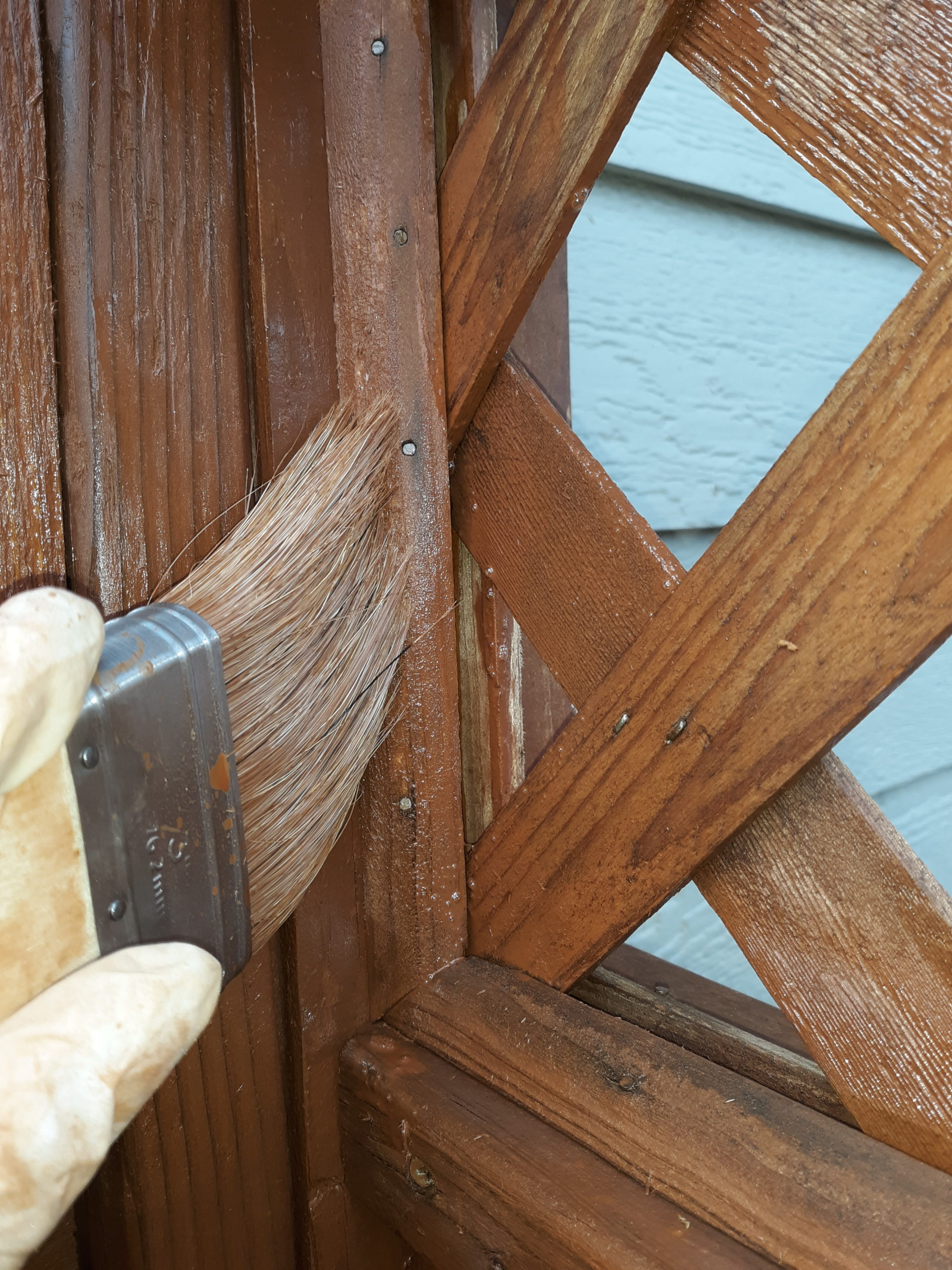 Acorn Maintenance Repair-Home Repair-Carpentry-Stain Fence #1