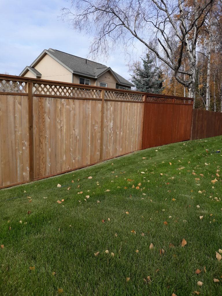 Acorn Maintenance Repair-Home Repair-Carpentry-Stain Fence #2
