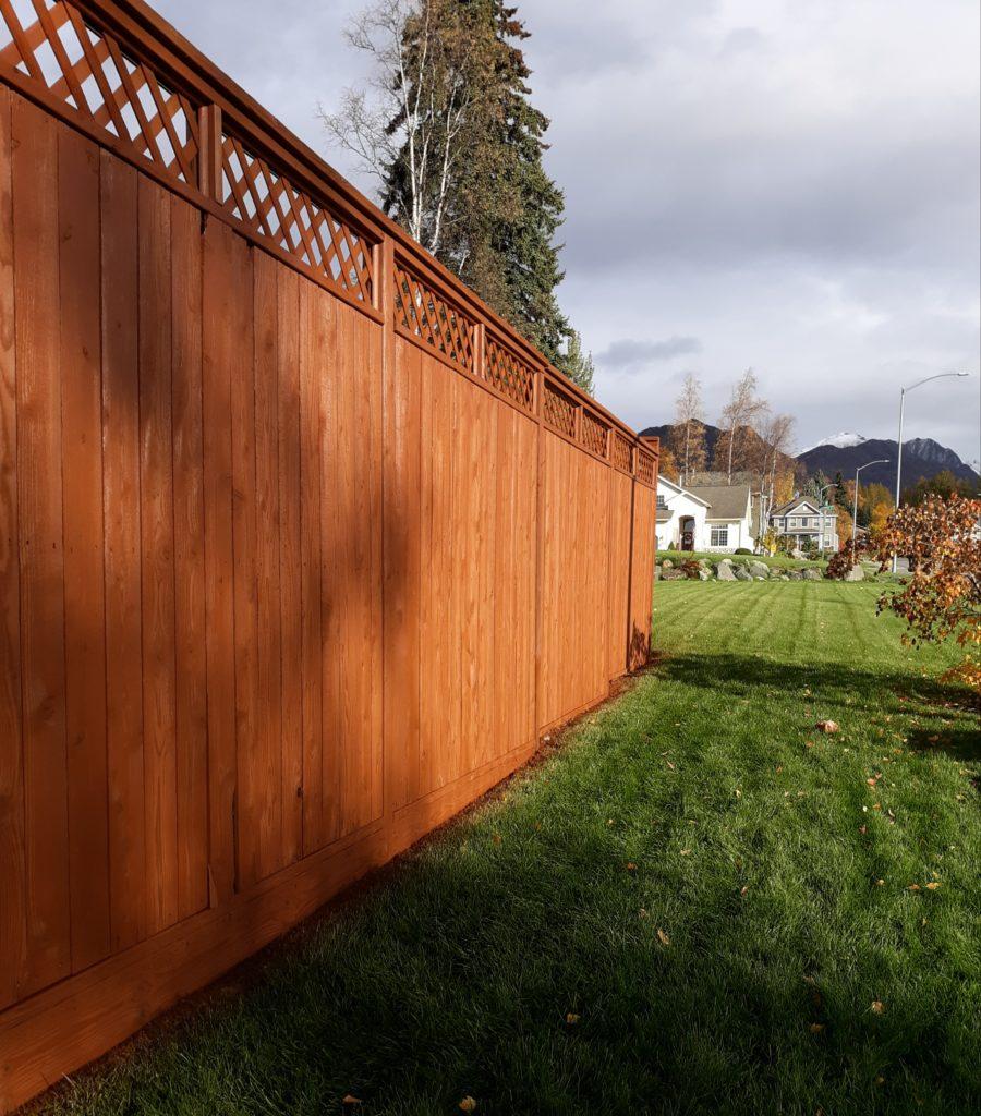 Acorn Maintenance Repair-Home Repair-Carpentry-Stain Fence #3