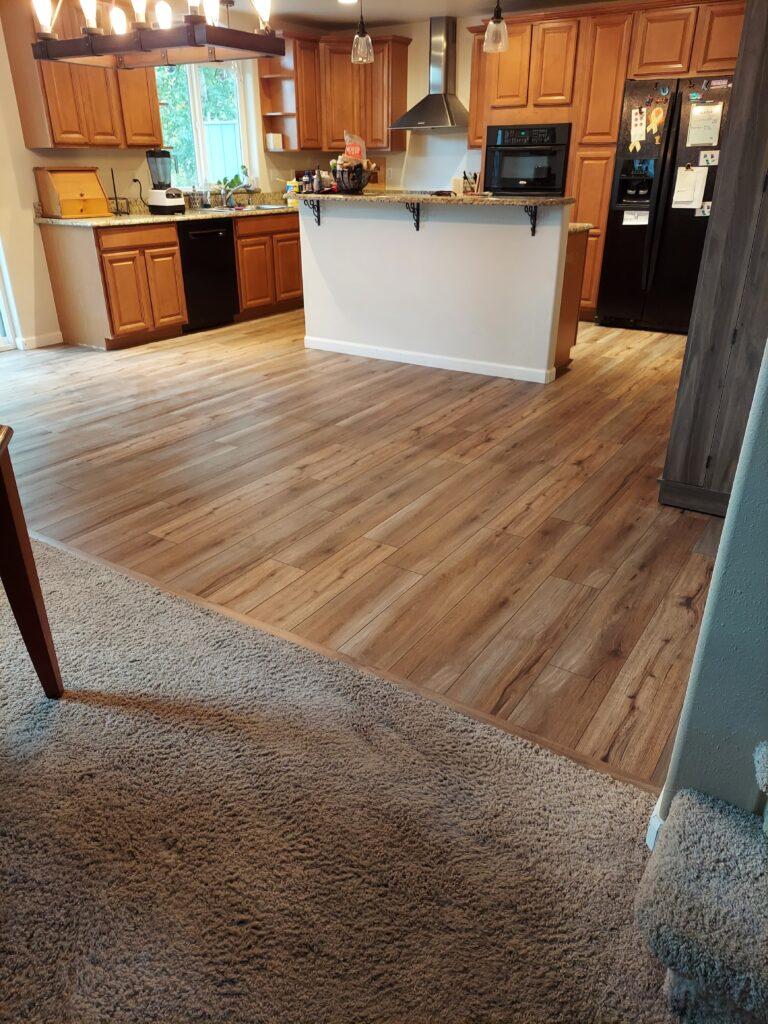 Acorn Maintnenance RepairTile removal & Vinyll floor